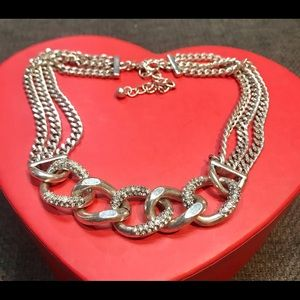 1980's look chunky chain choker necklace TREND chunky chains Premier Designs